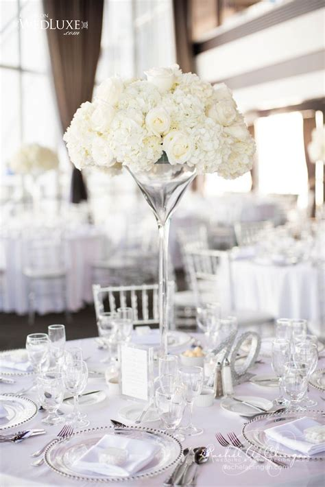 creatively glamorous wedding ideas white wedding
