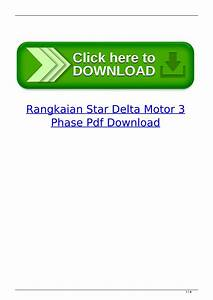 Rangkaian Star Delta Motor 3 Phase Pdf Download By