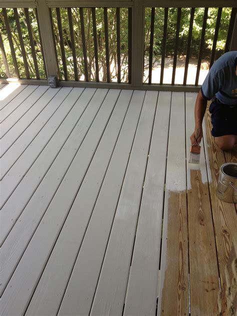color   paint  deck  roccommunity