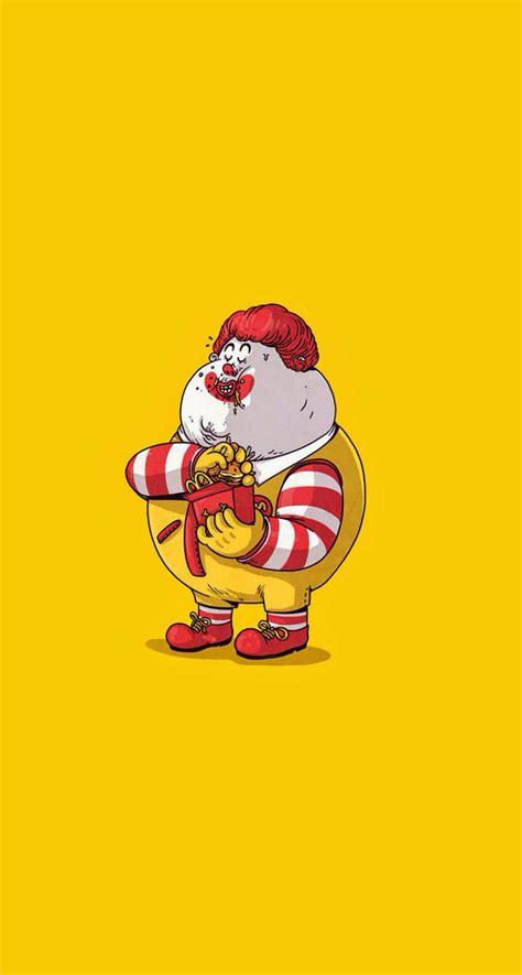 Fat ronald mcdonald   Cute cartoon/drawings   Pinterest   Ronald mcdonald