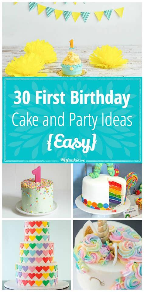 Ee  First Ee    Ee  Birthday Ee   Cake And  Ee  Party Ee    Ee  Ideas Ee   Easy Tip Junkie