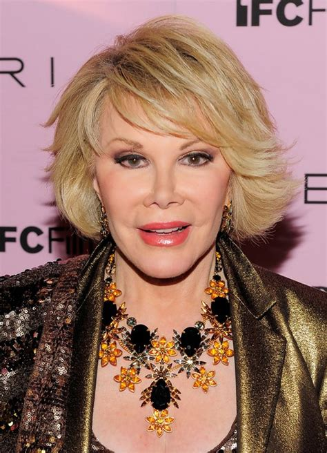 joan rivers short bob hairstyle for older over 60 pretty designs