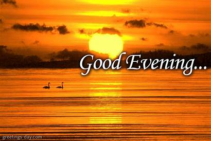 Evening Greetings Clipart Nice Night Wishes Greeting