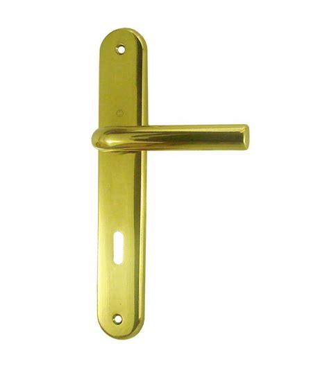 poignee de porte laiton poli ensemble de poign 233 es de porte orly trou serrure 195 mm laiton poli verni 1001poign 233 es votre