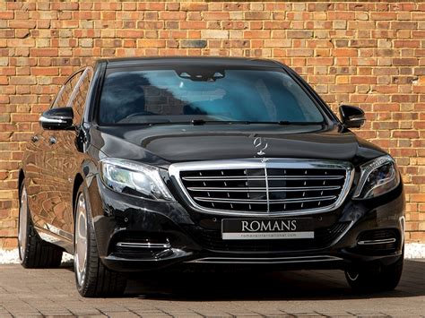 390 kw (530 hp) and 830 nm of torque. 2015 Used Mercedes-Benz S Class Maybach S600 | Obsidian Black Metallic