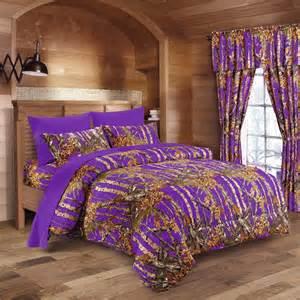purple camo sheet set the sw company