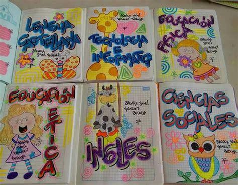 mejores 86 im 225 genes de marcados de cuadernos en cuadernos decorados caratulas de