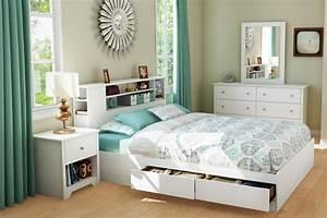 Bett Mit Ablagefläche : bett mit regal 20 ideen mit integrierter ablagefl che ~ Sanjose-hotels-ca.com Haus und Dekorationen
