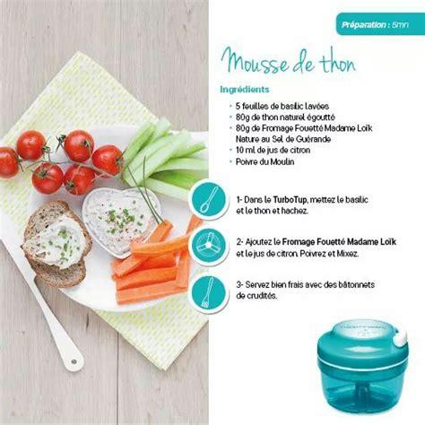 ancienne recette de cuisine tupperware mousse de thon tupperware