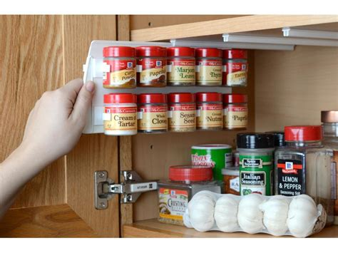 creative spice organization ideas hgtv
