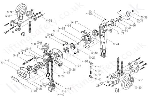 Tiger Shark Wiring Diagram by Tiger Pressed Steel Quality Lever Hoist Range From