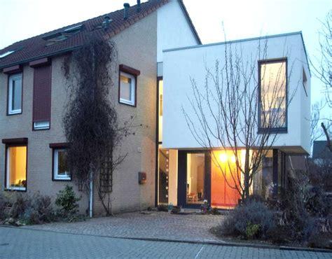 anbau  eine doppelhaushaelfte poggel architekten