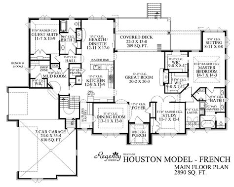 Inspiring Custom Homes Plans #14 Custom Ranch Home Floor