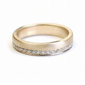 Wedding band eternity band gold and diamond wedding band for Engagement wedding and eternity ring