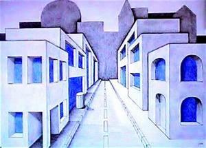 Perspektive Zeichnen Raum : kunsterziehung zentralperspektive ~ Orissabook.com Haus und Dekorationen