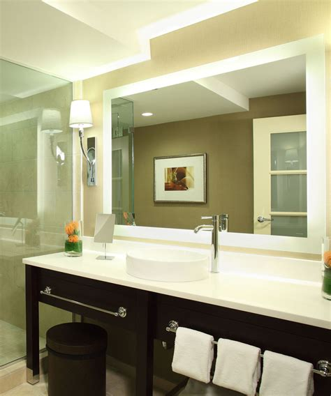 Electric Mirror Bathroom by Silhouette Led Lighted Bathroom Mirror Electric Mirror 174