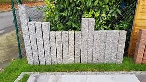 Palisaden Granit Grau Bis 40 Gnstiger Online Kaufen Ab