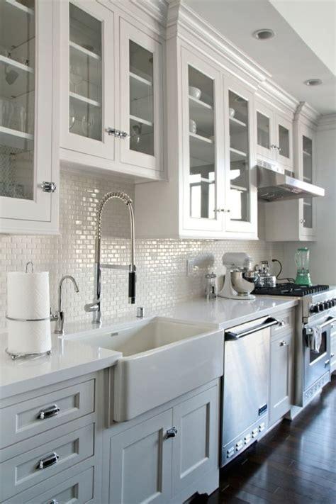 deco cuisine blanche 1000 idées sur le thème décoration de cuisine blanche sur