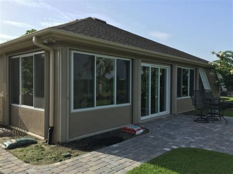 porch enclosed with windows brevard county fl