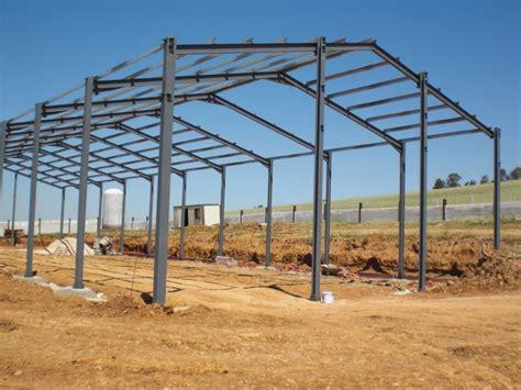 estructuras metalicas  nave industrial ideas