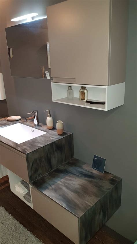 top in corian outlet mobile bagno sospeso con top in corian arredo