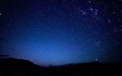 Sky Night Stars Wallpapers Star Falling