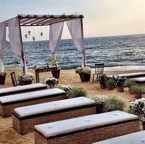 215 Best Beach Wedding Ceremony Ideas Images On Pinterest
