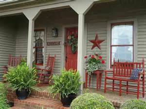 Stunning Country Front Porch Designs Photos by This Porch Outdoor Spaces