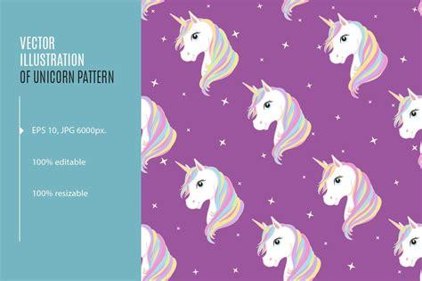 unicorn seamless pattern eps jpg graphic patterns