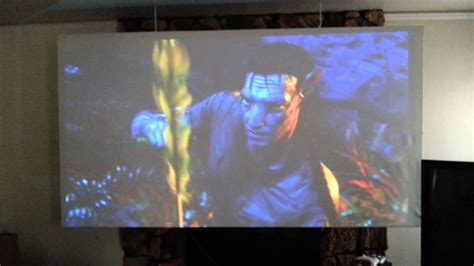 homemade   projection screen youtube