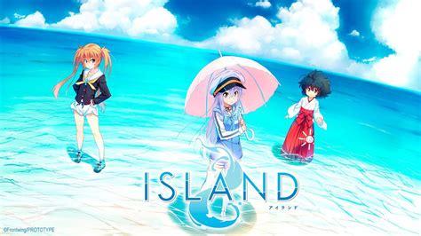 anime island down island visual novel s tv anime english release revealed