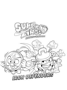 kids  funcom  coloring pages  superzings
