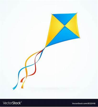 Kite Vector Colorful Royalty Vectors Vectorstock
