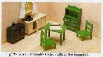 sylvanian country kitchen country kitchen sylvanian 2644