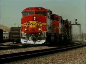 Santa Fe Freight Train Engine