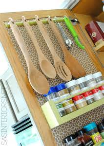kitchen utensil storage ideas kitchen organization ideas for the inside of the cabinet