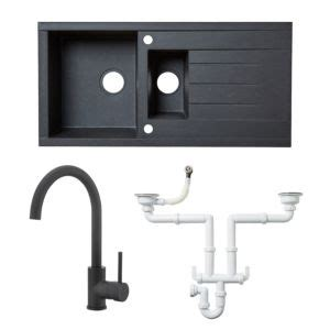 kitchen sink and tap packages sink tap and waste packages kitchen sinks kitchen 8434