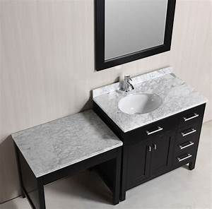 "36"" London Single Sink Vanity Set in Espresso with One"