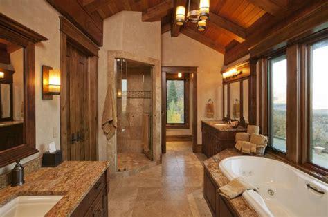 Ausgefallene Designideen Für Ein Landhaus Badezimmer