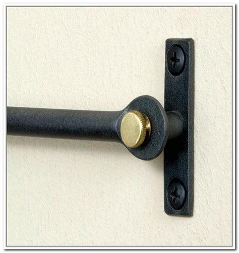 inside mount curtain rod hardware window treatment