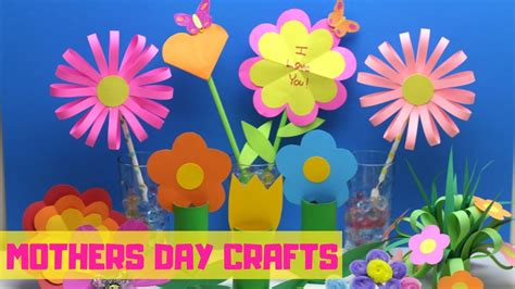 mothers day crafts  kids paper flower craft ideas
