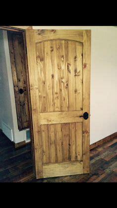 staining pine doors rustic craftsman interior closet door square top rail 6
