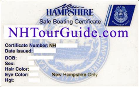 Temporary Boating License In Nh by Nh Boating Safety Education Class Schedule