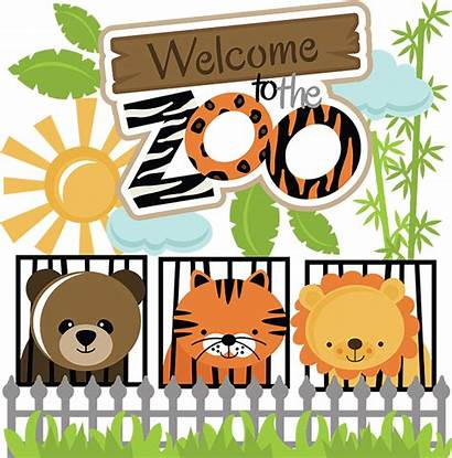 Zoo Welcome Clipart Svg Animals Clip Lion