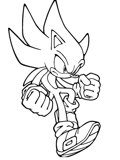 Sonic The Hedgehog Coloring Pages 360coloringpages