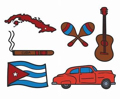Cuba Vector Icon Freevector Graphics Hand