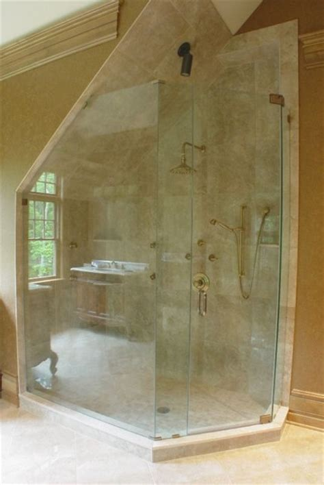 Glass Shower Enclosure Kits by Frameless Glass Shower Enclosure Contemporary Shower