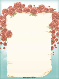 roses  surround  pretty floral border