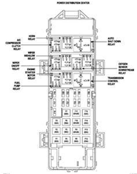 04 Jeep Grand Fuse Box Diagram by Solved Need To See Relays On 2002 Jeep Fuse Box Diagram