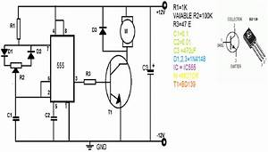speed control of dc motor using pwm using 555 timer With pwm controller ic